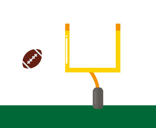 Crosby's Goal Post Theory Illustration